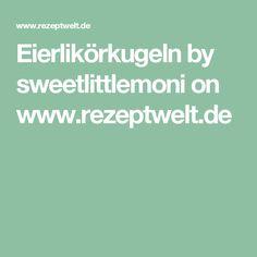 Eierlikörkugeln by sweetlittlemoni on www.rezeptwelt.de