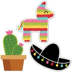 Let's Fiesta – DIY Shaped Mexican Fiesta Party Paper Cut-Outs – 24 ct - Modern Balloon Party Games, Beach Party Games, Bridal Party Games, Backyard Party Games, Engagement Party Games, Dinner Party Games, Childrens Party Games, Tween Party Games, Princess Party Games