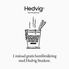 Sveriges populäraste hemförsäkring bland studenter. Good Life Quotes, Life Is Good, Funny Tweets, Student, Tattoo Ideas, Watch, Design, Clock, Bracelet Watch