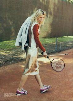 tennis styling