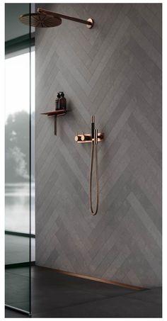 Modern Bathroom, Master Bathroom, Bathroom Ideas, Copper Bathroom, Budget Bathroom, Shower Ideas, 1920s Bathroom, Aqua Bathroom, Bathroom Gallery