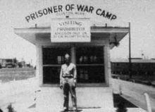 Camp Clinton, Mississippi; Prisoner of War Camp that housed Germany's Afrika Korps.