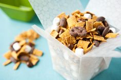 Deer trails!....trail mix buffet.. S'More Trail Mix [via Betty Crocker on Eclectic Recipes]