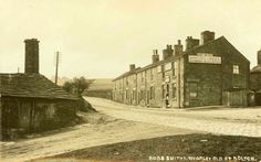 Public Transport Experience: Doff your Cockers in Bolton? Bob's Smithy Inn, Chorley Old Road, Bolton with the smithy on the left 1910 Old Pictures, Old Photos, Bolton Lancashire, Where The Heart Is, Public Transport, Small Towns, Old Town, Monument Valley, Transportation