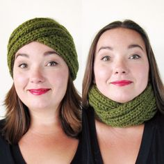 A quick, stylish one-skein project you can wear as a headband or pulled down as a cowl. This headband knitting pattern teaches you a clever cross-over technique that you can use to add some cable-knit interest to other projects. Since the fabric is worked in a 2x2 rib pattern, it