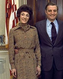 Joan Mondale:  Second Lady of the United States In office January 20, 1977 – January 20, 1981 Preceded by	Happy Rockefeller Succeeded by	Barbara Bush Personal details Born	August 8, 1930 Eugene, Oregon Died	February 3, 2014 (aged 83) Minneapolis, Minnesota Political party	Democratic Spouse(s)	Walter Mondale (1955–2014; her death)
