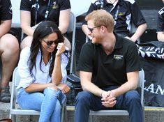 TORONTO, ON - SEPTEMBER 25:  Meghan Markle and Prince Harry attend the Wheelchair Tennis on day 3 of the Invictus Games Toronto 2017 at Nathan Philips Square on September 25, 2017 in Toronto, Canada.  The Games use the power of sport to inspire recovery, support rehabilitation and generate a wider understanding and respect for the Armed Forces.  (Photo by Karwai Tang/WireImage) via @AOL: https://www.aol.com/article/lifestyle/2018/02/19/prince-harry-gets-a-new-job-and-queen-el