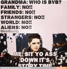 Black Veil Brides meme | Ha! soooooo true
