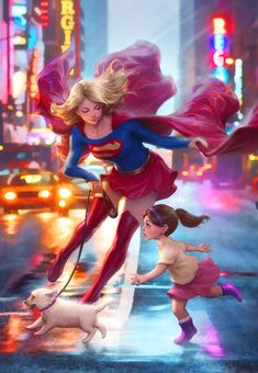 Supergirl Fan Art Covers