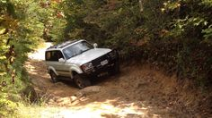 1997 Toyota Land Cruiser off road in the Daniel Boone National Forrest Kentucky. Land Cruiser Fj80, Toyota Land Cruiser, Offroad, Kentucky, Image, Off Road