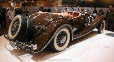 Mercedes-Benz 500K Spezial Roadster (W29) 1934