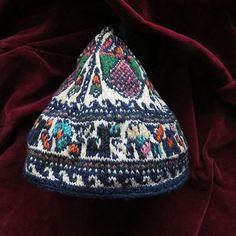 persia-kurdistan-bijar-kurdish-tribal-conical-child-hat