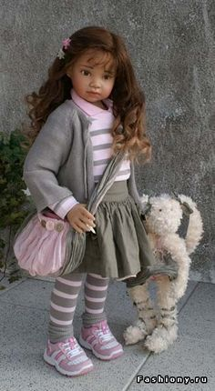 'Дети' Анжелы Суттер / фарфоровые куклы