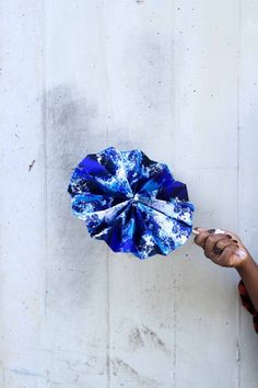 DIY Ankara Hand Fan Tutorial