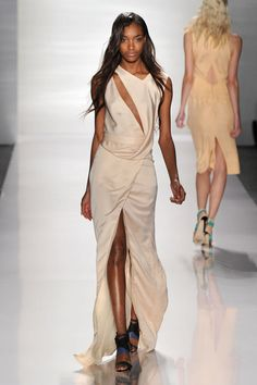 J.Mendel Spring '12. This dress is so edgy, but still so pretty. Loveee it!
