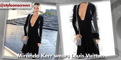 Want to know where Miranda Kerr got her dress from at Paris Fashion Week? Style on Screen can tell you!