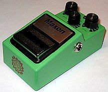 Analog Man Maxon OD-9 / 808 Overdrive pedal with Silver Option and Bad Bob Boost
