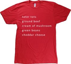 Tater Tot Hotdish T-Shirt
