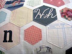 Offset hexagons