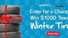 Enter for a Chance Winning $1000 Towards Winter Tire