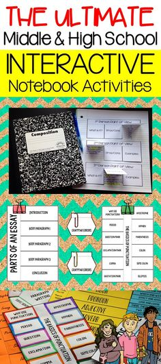 Looking to incorporate interactive notebooks into your class? Check out this blog post to get some ideas for your classes!
