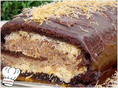 Ενας κορμος με τα ολα του,ενας κορμος που διαφερει απο ολους τους αλλους!!! Η πεντανοστιμη γεμιση κανει την διαφορα. Ενας κορμος εξαιρετικος,ιδανικος και για τις γιορτινες ημερες των Χριστουγεννων!! Δ Cake Roll Recipes, Sweets Recipes, Cooking Recipes, Greek Sweets, Greek Desserts, Dessert Drinks, Party Desserts, Greek Pastries, Decadent Cakes
