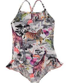 2bd371974f Noona - Safari - Swimsuit with digital safari print Tween Girls, Tween Girl  Gifts,