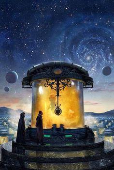 "Stephen Youll - ""Navigators of Dune"" book cover http://www.stephenyoull.com/"