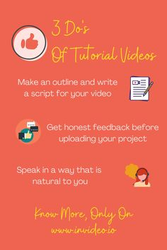 How To Make Tutorial Videos—Video Creation Made Easy. Visit the InVideo Blog and learn more! Videos Video, You Videos, Make Tutorial, Animation Tutorial, Made Video, Getting To Know You, Make It Simple, Teaching, Marketing