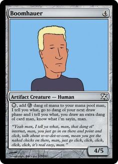 King of the Hill - Boomhauer.