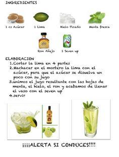 .: MOJITO CON ALCOHOL