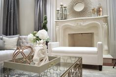 Transitional Style, Collaboration, Living Room, Elegant, Projects, Home Decor, Classy, Log Projects, Homemade Home Decor
