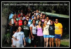 Central Florida Allies at Core Retreat. by PublicAllies, via Flickr