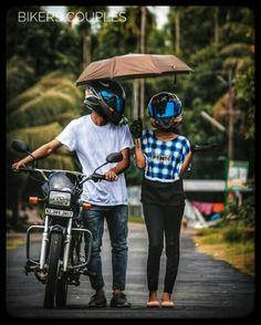 Best Love Couple Images, Romantic Couple Images, Love Couple Photo, Couple Picture Poses, Cute Love Pictures, Biker Photography, Couple Photography Poses, Bike Pic, Bike Photo