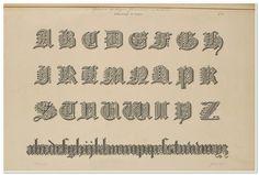 Alphabet-Album collection de soixante feuilles d'alphabets historiés 1843- Joseph-Balthazar Silvestre