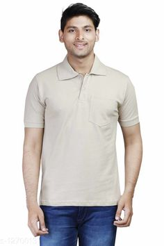 Tshirts Elegant Men's Solid Cotton Tshirt Fabric: Cotton Sleeves: Short Sleeves Are Included Size: SM L XL XXL ( Refer Size Chart ) Length- Refer Size Chart Type: Stitched Description: It Has 1 Pieces Of Men's T- Shirt's  Pattern: Solid Country of Origin: India Sizes Available: XS, S, M, L, XL, XXL   Catalog Rating: ★4 (388)  Catalog Name: Everyday Elegant Mens Solid Cotton Tshirts Vol 3 CatalogID_161229 C70-SC1205 Code: 803-1270013-429