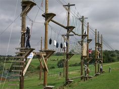 Hertfordshire High Ropes Course - this looks so much fun!
