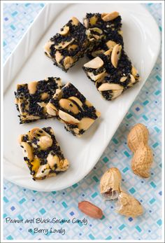 Peanut and Black Sesame Candy