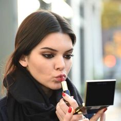 Her eye makeup is so on point... Kendall Jenner reveals the beauty products she CAN'T live without: http://hbazaar.co/6011sWLh