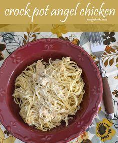 Crock Pot Dinner Idea - Angel Chicken