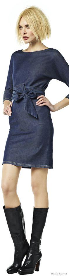 .Short Denim Dress