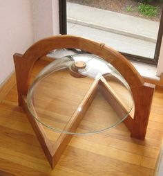 Glass Bell Gong: Made from a repurposed bathroom sink, this rings a resounding D. Comes with a gong-bonger.