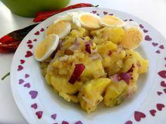 Jak připravit tradiční vídeňský bramborový salát | recept