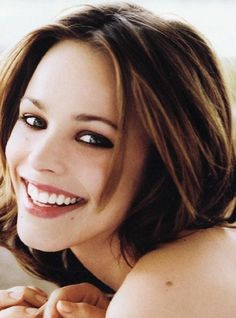 Rachel McAdams.. love her highlights and low lights.