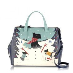 Snowdays Large Ziptop Grab Bag Radley Handbags Bags Dog
