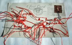 Vintage Embroidered Postcard. | Flickr - Photo Sharing!