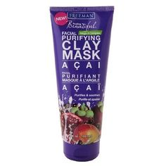 Freeman Feeling Beautiful Clay Purifying Facial Mask 6 fl oz (150 ml) AB http://www.amazon.com/dp/B00BKLNRRG/ref=cm_sw_r_pi_dp_Y-Fyvb01B6H1A