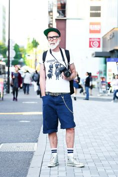 Street Snap [DAVID] | CONVERSE, Converse | Harajuku | Fashionsnap.com