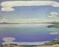 Lake Geneva from Chexbres c.1905 by Ferdinand Hodler (Swiss 1853-1918)