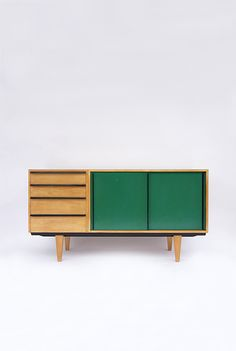 Alfred Altherr; Sideboard for K.H. Frey, 1950s.